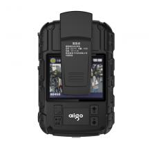 爱国者(aigo)执法记录仪 DSJ-R1 红外夜视1080P便携加密激光定位录音录像拍照对讲 32G 黑色