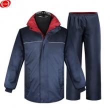 谋福 CNMF8014 SMC 加厚双层雨衣套装 户外骑行救援制服(双面雨衣)XL(160-165CM)