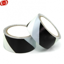 谋福(CNMF)84805 安全警示胶带 地面标识警戒线 地面划线胶(黑白色款)
