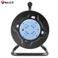 公牛(BULL)GN-8030 过热保护电缆卷盘插座/插排 GN-8030 4位无线卷线盘(需自行接线和插头)