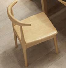 国产 一楼大厅接待椅 【橡胶木常规款】
