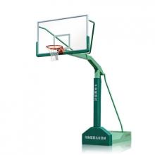 金陵YDJ-2B/11221标准成人比赛篮球架 室内外移动式单臂篮球架