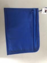 渡美(Dumei) NF-382E 拉链文件袋 A4 蓝色