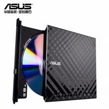 华硕(ASUS) 8倍速 USB2.0 外置DVD刻录机 移动光驱 黑色SDRW-08D2S-U 兼容苹果系统/SDRW-08D2S-U