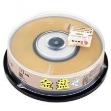 啄木鸟 CD-R 8CM 小盘 24速 210M 3寸小盘 桶装10片 刻录盘