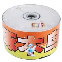 啄木鸟 CD-R 52速 700M 白系列 塑封装50片 刻录盘