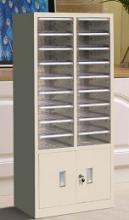 国产 文件柜效率柜抽屉式档案柜资料收纳柜样品整理柜办公柜 1240*550*340mm