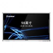 东方中原 Donview DS-98IWMO-L02PA(I3)教学一体机触屏 教学一体机触屏98英寸 智能电子白板