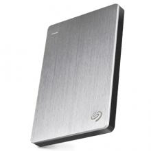 希捷(Seagate) STDR1000301 移动硬盘 1TB USB3.0 睿品 2.5英寸 银色 金属外壳 轻薄便携 兼容Mac PS4