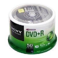 索尼(SONY) DVD+R 16速4.7G  空白光盘/刻录盘