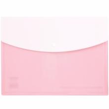 得力 (deli) 5522 文件袋A4资料袋纽扣公文袋不透明档案袋横式按扣颜色随机(A4资料袋)