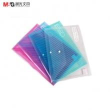 晨光(M&G) 按扣袋 斜纹 ADM94517 (红色) 12个/包