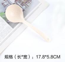国产 麦秸秆勺子 白 17.8*5.8cm