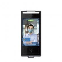 汉王(Hanvon)HW-M0816G 非接触式人证比对核验终端8英寸触屏智能人脸识别考勤机双目动态活体检测 琥珀闸机版