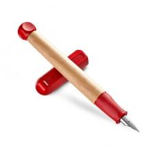 凌美(LAMY)入门练字钢笔 ABC入门练字钢笔 红色墨水笔标准A尖0.8mm