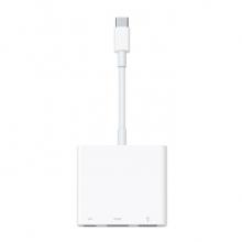 苹果原装雷雳3USB-C转AV闪电数字影音多端口HDMI鼠标硬盘u盘转换器笔记本电脑投影仪 USB-C数字影音多端口转换器