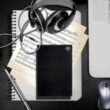 希捷(Seagate) 移动硬盘 4TB USB3.0 铭 新睿品 2.5英寸 黑色 金属外壳 大容量存储 兼容Mac PS4 STHP4000400