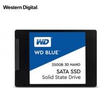 西部数据(WD)250GB SSD固态硬盘 SATA3.0接口 Blue系列-3D进阶高速读写版