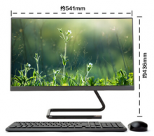 联想(Lenovo)AIO 520C 一体机 台式电脑23.8英寸 I5-9400 8G 1T 2G独显 WiFi 黑色