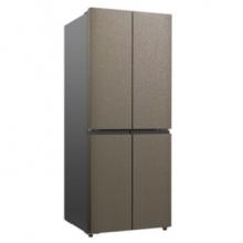 TCL 409升 风冷无霜四门冰箱 电脑控温节能静音大容量冰箱 409F5-U玛奇朵
