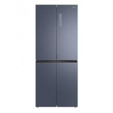 TCL 406升 十字对开门 家用电冰箱 双变频 风冷无霜(星云蓝)406P6-U