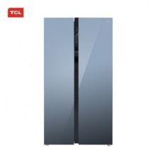 TCL 520P6-S 520升大容量双变频对开门冰箱风冷无霜 节能静音(星云蓝)
