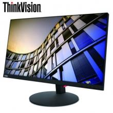 联想(ThinkVision)T系列 纤薄窄边框 双向旋转升降 可壁挂 电脑显示器 T27p 27英寸(4K高清窄边框)