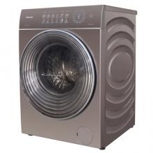 海信(Hisense) XQG100-BH1605YFIJG 10公斤 滚筒 洗衣机 烘干功能 拉卡金