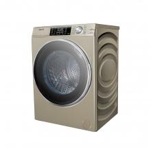 海信【XQG100-UH1406F】10KG/大容量洗烘一体变频滚筒洗衣机/贝式微蒸汽烘干/BLDC变频