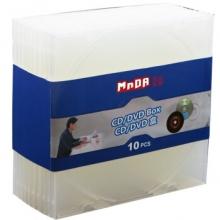 铭大金碟(MNDA)CD盒 光盘盒 柔韧设计 不易碎 10片/包