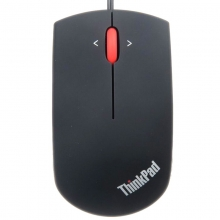 联想ThinkPad 小黑鼠 0B47151 蓝光鼠标 (磨砂黑) 有线鼠标