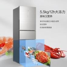 海尔 (Haier) BCD-255WDCI 变频风冷无霜三门冰箱 255升