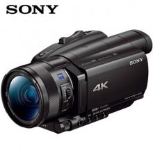索尼FDR-AX700摄像机 4K高清数码摄像机 超慢动作 红外夜摄 家用 直播 婚礼 会议 索尼AX700摄像机 官方标配