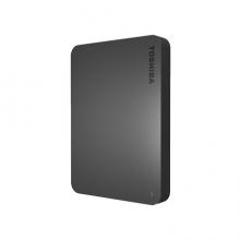 东芝(TOSHIBA) 2TB USB3.0 移动硬盘 新小黑A3 2.5英寸 兼容Mac 轻薄便携 稳定耐用 高速传输 商务黑