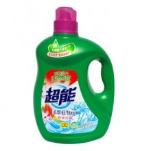 超能植翠低泡洗衣液(鲜艳亮丽)3.5kg(瓶)
