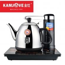金灶(KAMJOVE) 触控式智能电茶壶 自动加水上水电热水壶304不锈钢T-25A