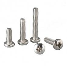 TONG/东明 GB818 十字槽盘头螺钉(H型) 不锈钢304 A2-50 本色 210056002000300000 M2×3 200个 1包