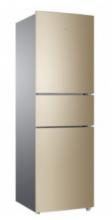 海尔(Haier) 冰箱216升三门风冷无霜家用小冰箱 BCD-216WMPT 金色 BCD-216WMPT