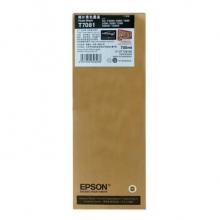 爱普生(EPSON)T7081 照片黑色墨盒 颜料墨 (适用SC-T3080/3280/5080/5280/7080/7280系列机型)约700ml
