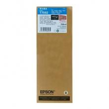 爱普生(EPSON)T7082青色墨盒颜料墨(适用SC-T3080/3280/5080/5280/7080/7280系列机型)约700ml