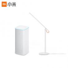 小米(MI)AI音箱白色+米家台灯套装