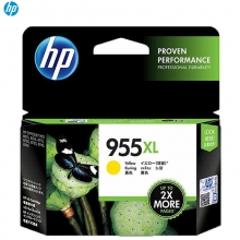 惠普 HP 955XL(L0S69AA) 墨盒 1600页 黄色 适用于惠普OFFCEJET PRO 7740/8210/8216/8710/8720/8730喷墨打印机