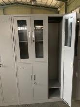 洛克菲勒 1800*420*970mm 钢制文件柜五门 加厚款0.7mm