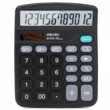 得力(deli) 837ES 12位大屏幕桌面计算器