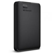 西部数据(WD) Elements 新元素系列 2.5英寸 USB3.0 移动硬盘 1TB(WDBUZG0010BBK)