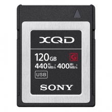 索尼(SONY)XQD存储卡QD-G120F 120G内存卡 440MB/s读取速度