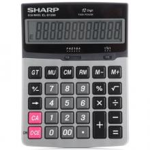 夏普(SHARP) EL-D1200 12位财务办公商务计算器 中号