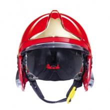 梅思安 10158942 F1XF基础款消防头盔 1顶 红色 均码