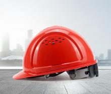 霍尼韦尔(Honeywell)安全帽 L99S HDPE工地 工程 工业 建筑 防砸 抗冲击 红色