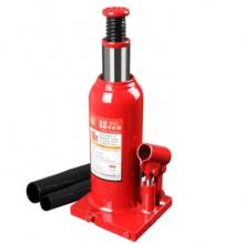 中联(CUJC)T91004D 红色焊接立式液压千斤顶 汽修工具 面包车轿车用换轮胎起重工具 10吨